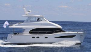 HORIZON flotte différents catamarans à moteur